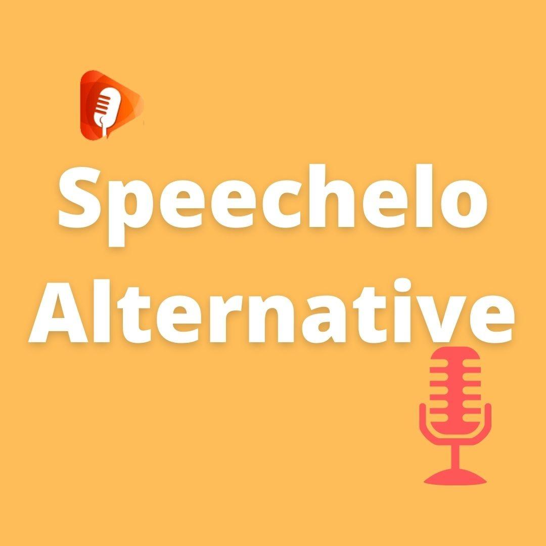 Speechelo Alternative